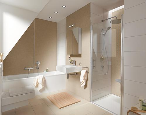Badkamer aanpassen voor senioren.